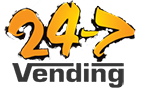 24-7 Vending Services Logo