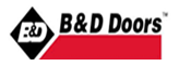 B and D doors logo