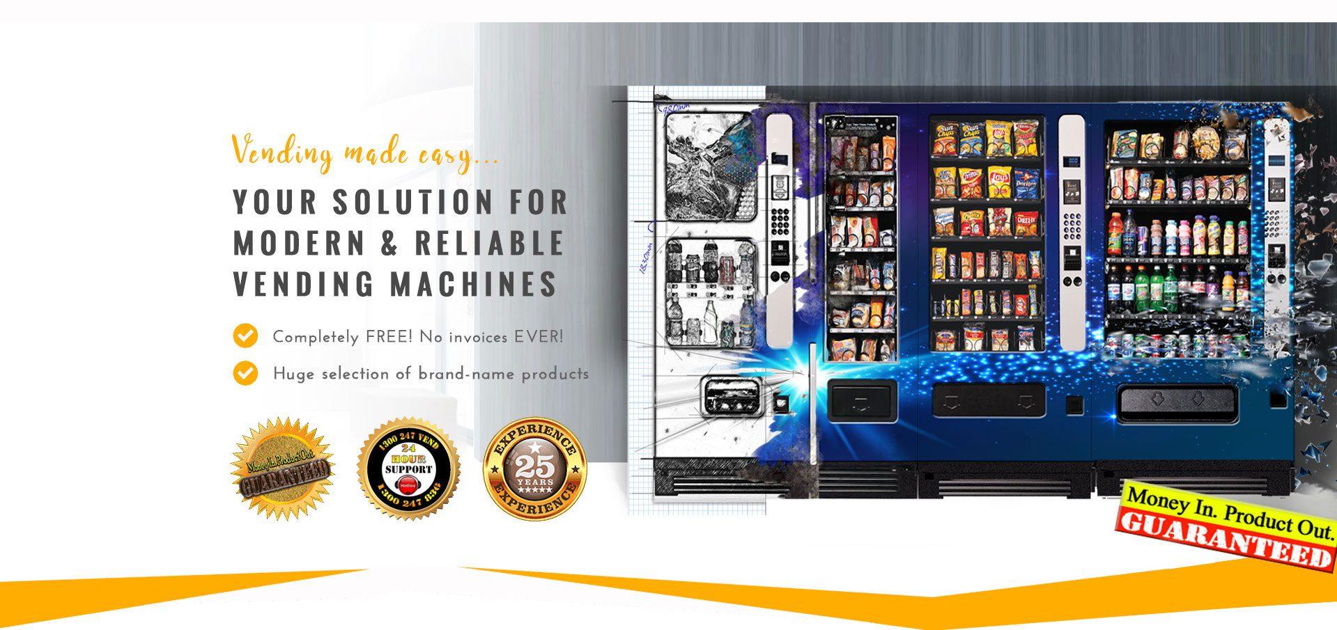 Vending Machine Concept Slide